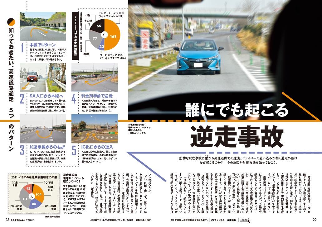 車や交通安全に関する連載・特集記事
